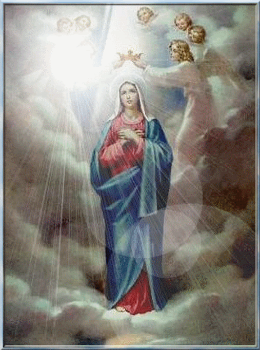 Story about the Queenship of Mary