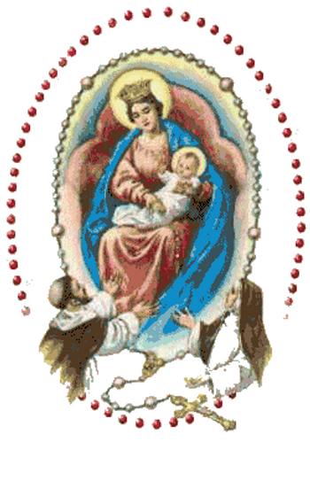 Story about October being the Month of Our Lady and te Holy Rosary