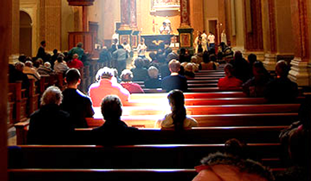 plenary-indulgence-for-those-who-attend-a-retreat-congregation-listening-to-priest-at-a-retreat-pamphlets-to-inspire