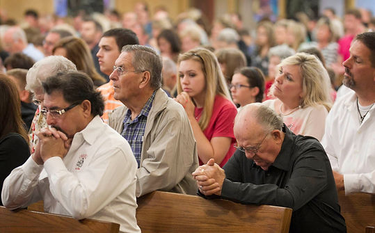 people-praying-in-church-pamphlets-to-inspire