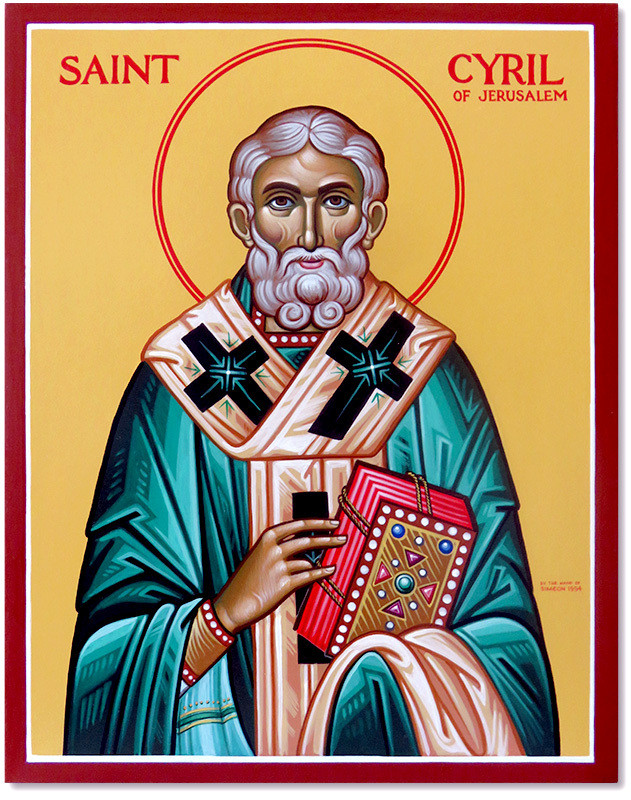 Saint Cyril of Jerusalem| Pamphlets To Inspire