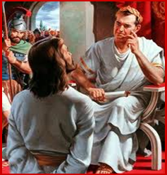 The Trial of Jesus Before Pontius Pilate| Pamphlets to Inspire