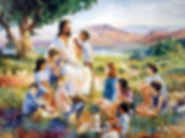 jesus-teaching-children-in-field-on-pius-x-page-pamphlets-to-inspire
