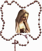 blessed-mother-with-rosary-beads-teaching-how-to-recite-the-Marian-rosary-pamphlets-to-inspire