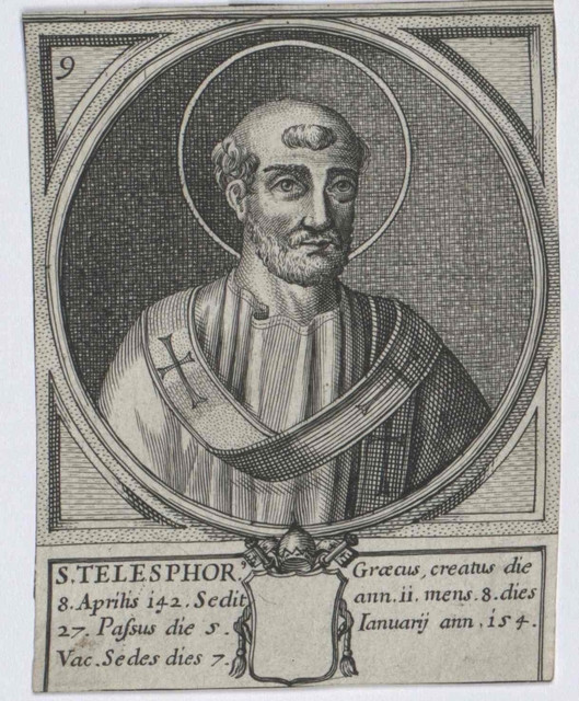 Pope St. Telephorus  Pamphlets To Inspire