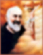 padre-pio-in-heaven-smiling-at-a-crucifix-of-jesus-crucified-pamphlets-to-inspire