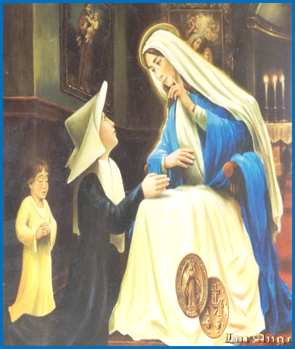 Saint Catherine Laboure and the Miraculous Medal| Pamphlets to Inspire