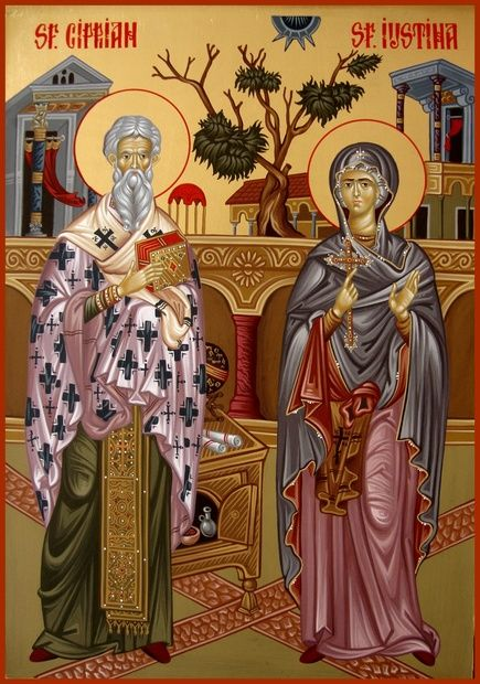 Saints Cyprian and Justina| Pamphlets To Inspire