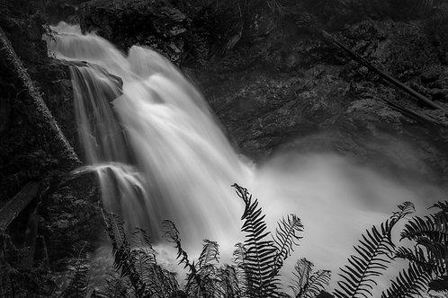 Sauk Falls, Mountain Loop Highway, Washington State