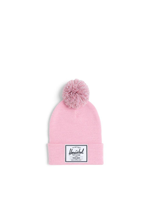 Herschel - Youth Abbott Pom Beanie (Candy Pink)