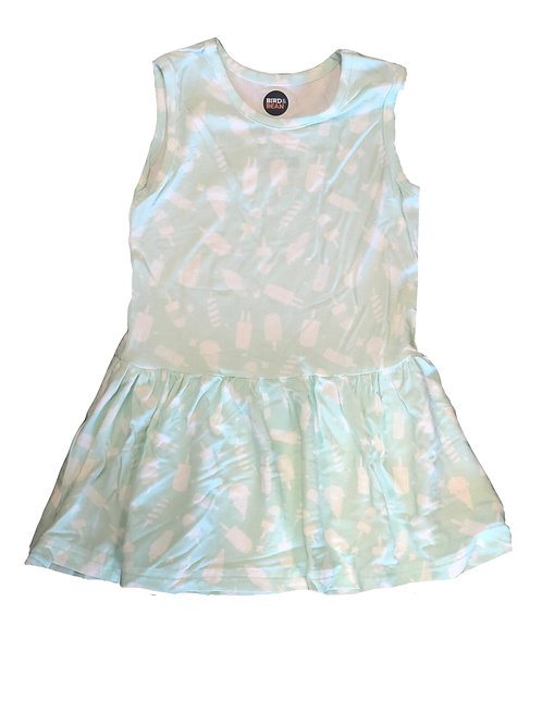 Bird & Bean Mint Ice Cream Dress