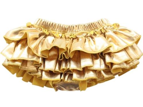 Mila & Rose - Gold Metallic Bloomers