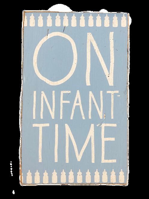 On Infant Time Sign