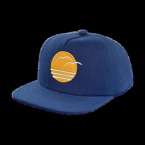 Tiny Whales - Coastal Snap Back Hat