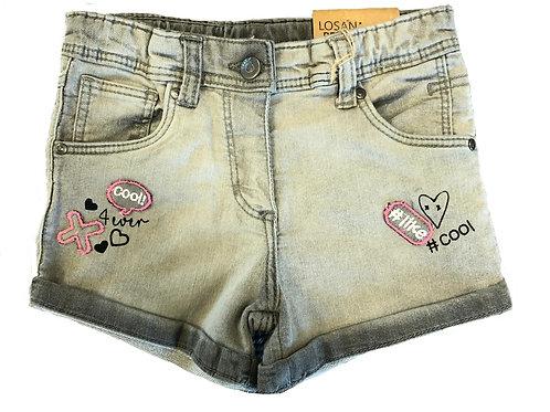 Losan Gray Denim Shorts