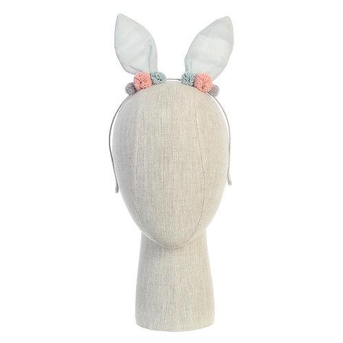 Aqua Bunny Ears Headband