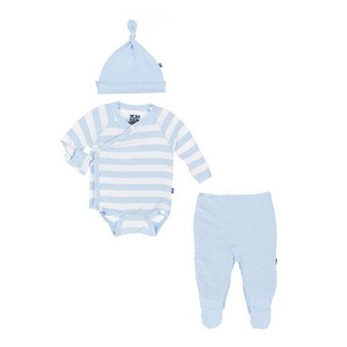 Boys KicKee Pants Stripe Gift Set