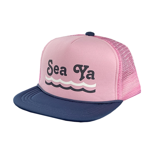 Tiny Whales Sea Ya Trucker Hat