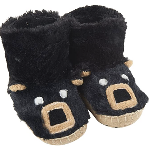 Little Blue House - Slippers (Unicorn & Black Bear)
