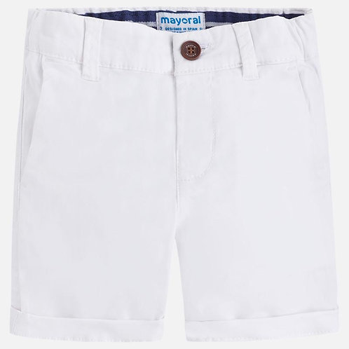Mayoral White Chino Shorts