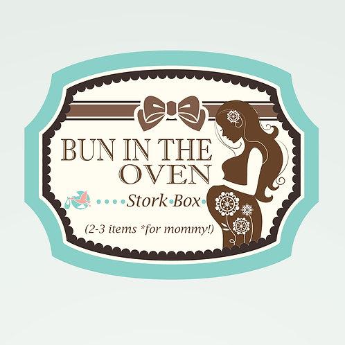 Bun in the Oven Stork Box