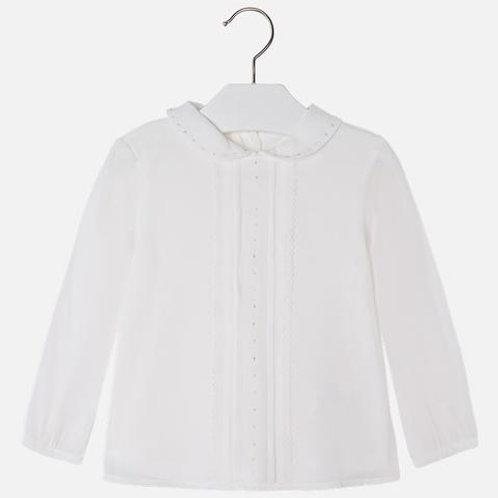 Mayoral Girls White Dress Top