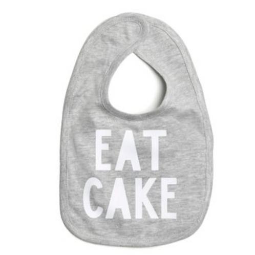 Sweet Wink Eat Cake Bib