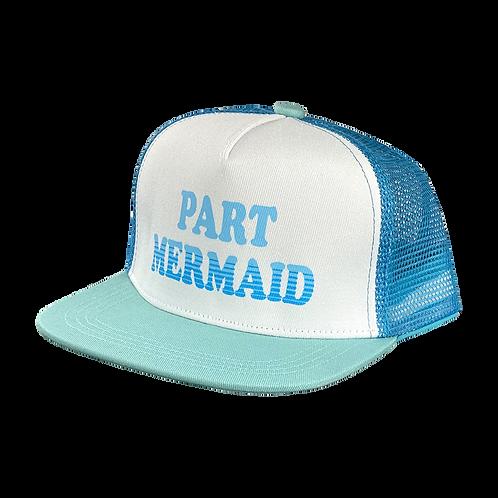 Tiny Whales Part Mermaid Trucker Hat