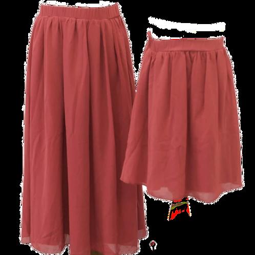 Bailey's Blossoms - Aurora Maxi Skirt (Retro Rose)