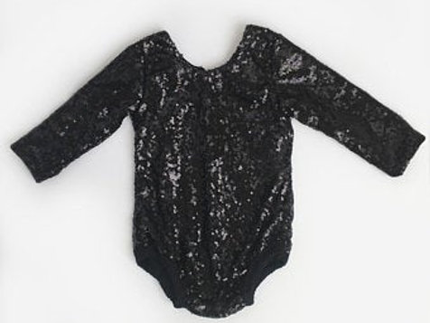 Carken Design Long Sleeve Sequin Leotard