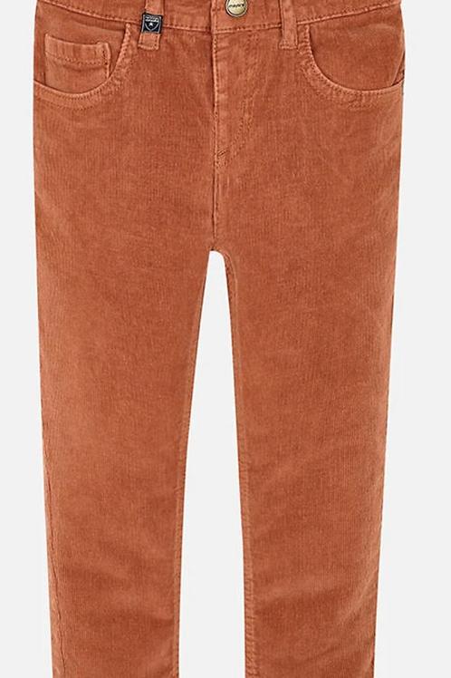 Mayoral Corduroy Pants (Rust)