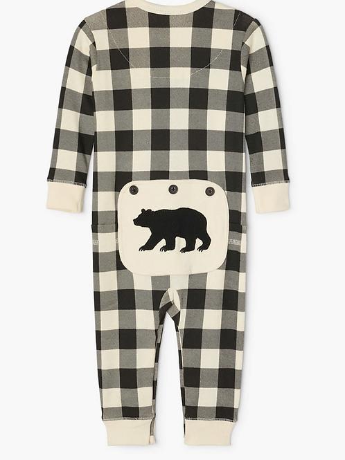 Plaid Union Pajamas (Cream)