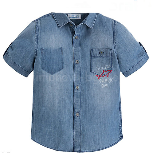 Mayoral Shark Bay Jean Button Up