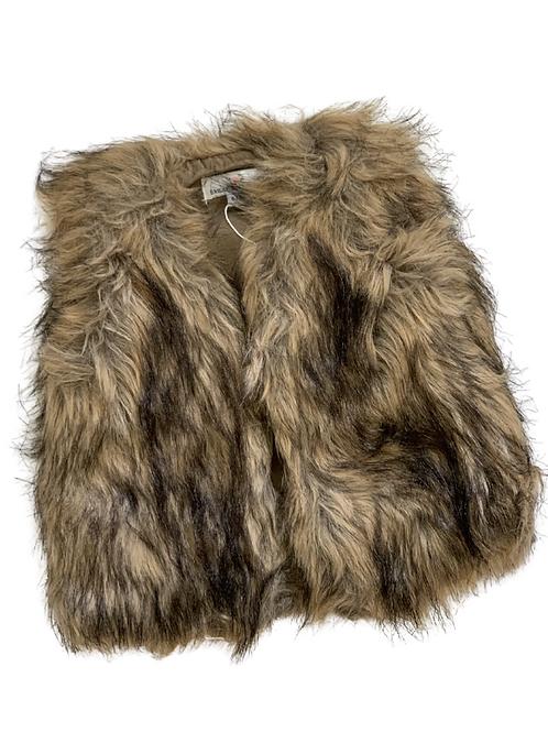 Bailey's Blossoms - Barnum Fur Vest (Boho Brown)