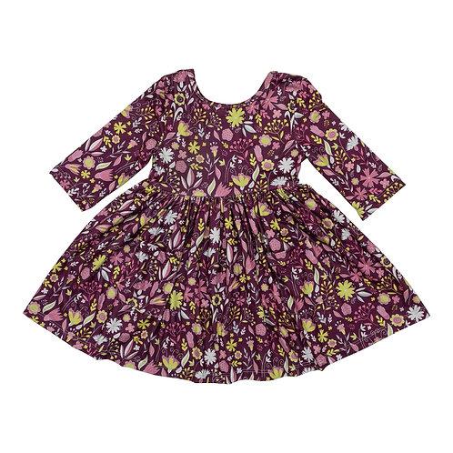Mila & Rose - Pocket Twirl Dress (Vintage Blooms)