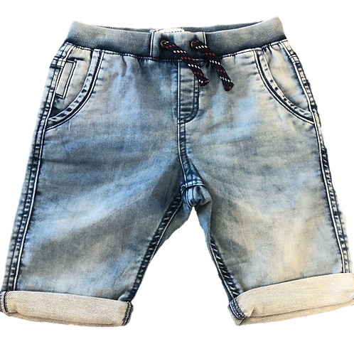 Mayoral Relaxed Fit Denim Shorts