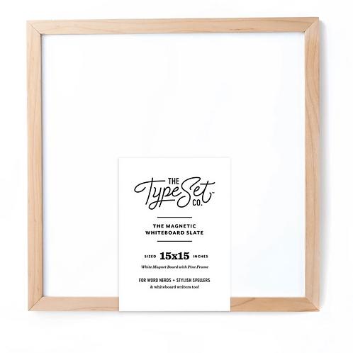 Type Set Co - Magnetic Letter Board (Whiteboard)