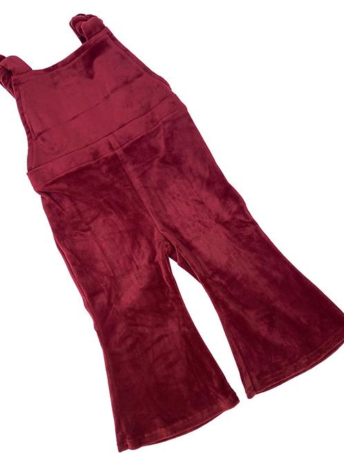 Bailey's Blossoms - Kellyn Bell Bottom Jumpsuit (Scarlet)