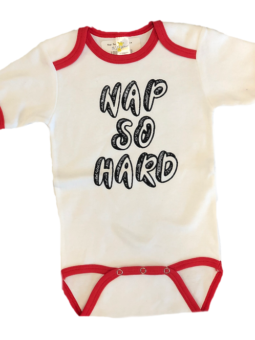 Nap So Hard Onesie
