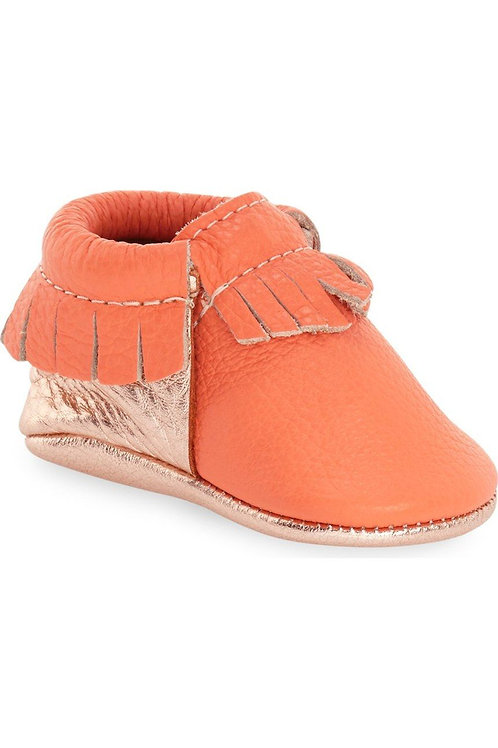 Freshly Picked Moccasin (Coral w/ Rose Gold)
