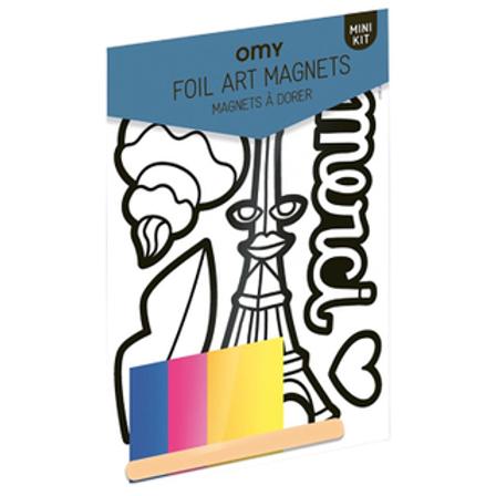 OMY Foil Art Magnet