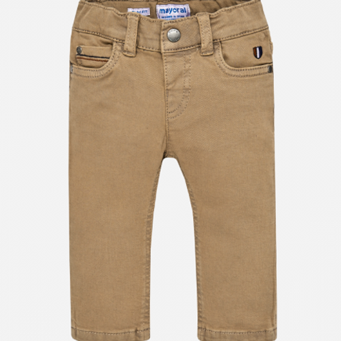 Mayoral Slim Fit Trousers (Madera)
