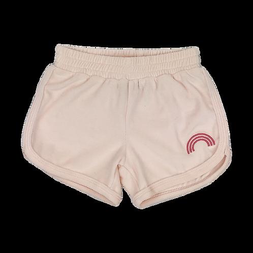 Tiny Whales - Rainbow Blush Dolphin Shorts