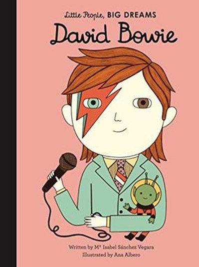 Little People Big Dreams Book - (David Bowie)