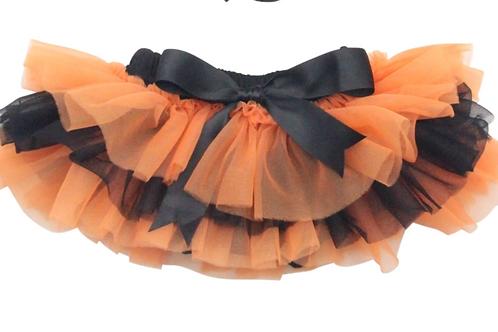 Mila & Rose - Orange and Black Tutu Bloomers