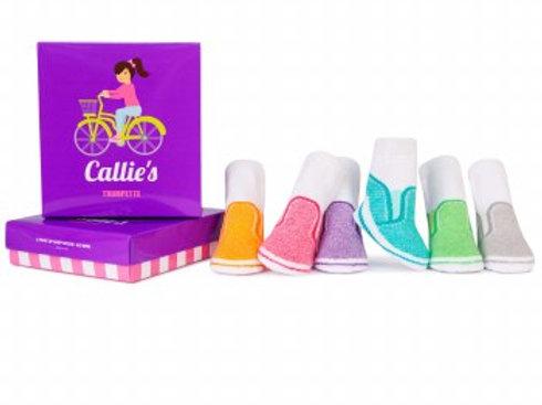 Trumpette Callie's Sneaker Sock Set - Pack of 6