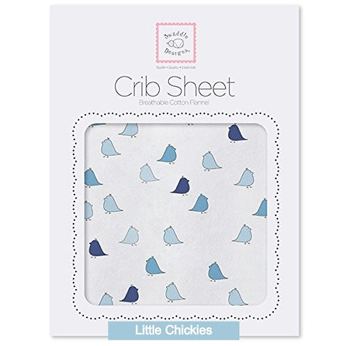 Swaddle Designs Flannel Fitted Sheet