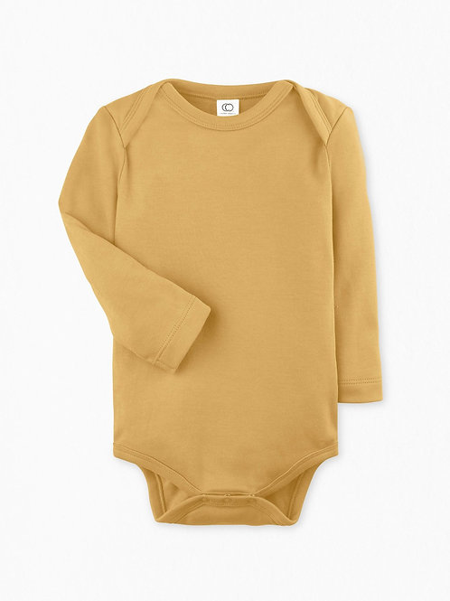 Colored Organics - Long Sleeve Tuscan Bodysuit