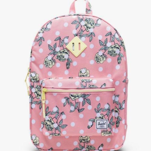 Herschel - Heritage Backpack Polka/Floral (Youth XL)