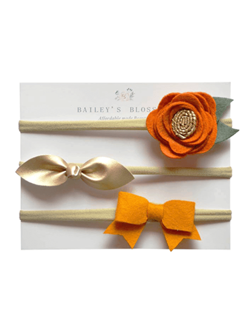 Bailey's Blossoms - Clementine Headband Variety Pack